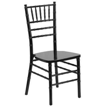 Chiavari Chair Black Resin
