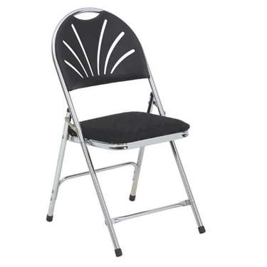 Folding Chair Comfort Black