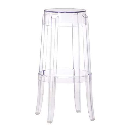 Clear Ghost Barstool