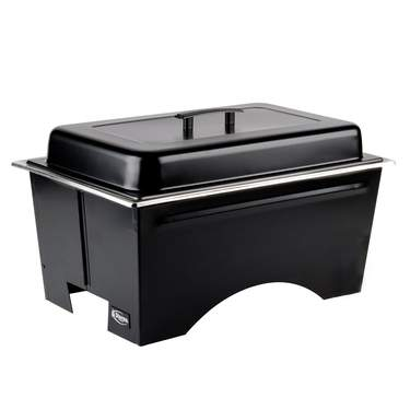 Chafer 8 qt Lift Top Black