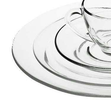 Clear Glass Dishware