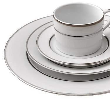 Platinum Rim Dinnerware Collection