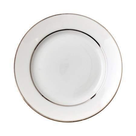 """Platinum Rim 8"""" Salad Plate"""