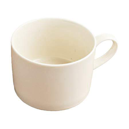 Ivory Rim Coffee Cup 8oz