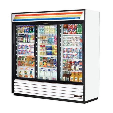 3 Door Display Refrigerator