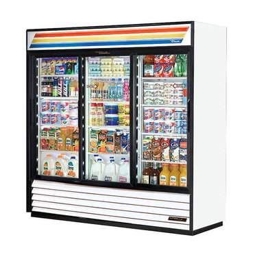 3 Door Display Refrigerator