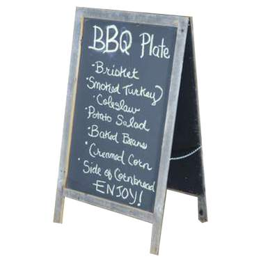 Chalkboard Sandwich Board Large