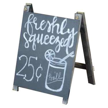 Chalkboard Sandwich Board Small