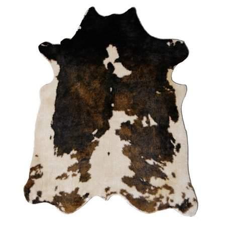 8'x10' Brown Cowhide Rug