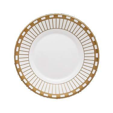 """Alina Gold China Salad Plate 8"""""""