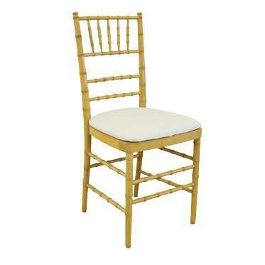 Natural Wood Chiavari Chair