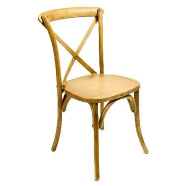 Golden Oak Bistro Chair