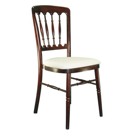Mahogany Presidential Chair