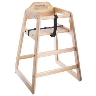 Children's High Chair Wood