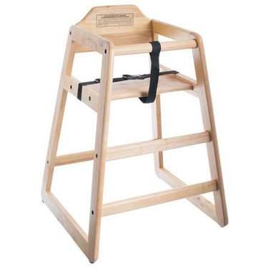 Children's High Chair Wood