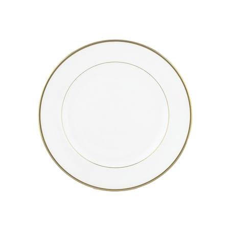 """White with Gold Band Bread & Butter Plate 6"""""""