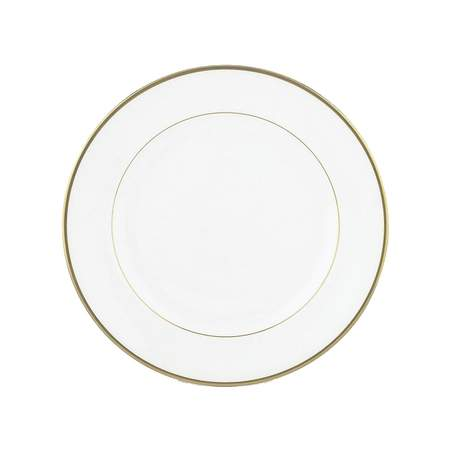 """White with Gold Band Bread & Butter Plate 6.75"""""""