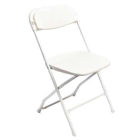 White Alloy Chair