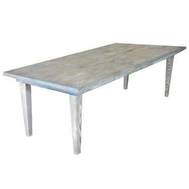 "Driftwood Vineyard Table - 8'x40"" Seating Height"