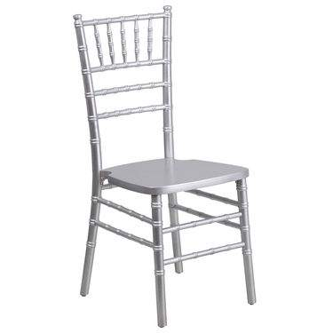 Chiavari Chair Silver Resin