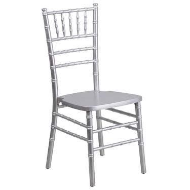 Chiavari Chair Silver Resin