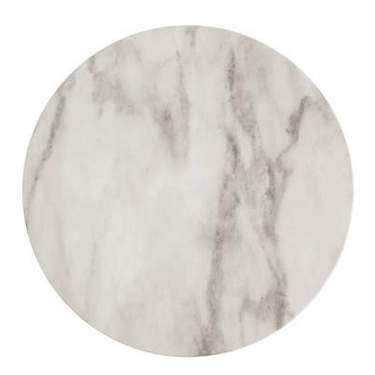 """Marble Charger Carrara White 13"""""""