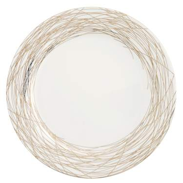 """Nest Gold Coupe Charger Plate 12"""""""