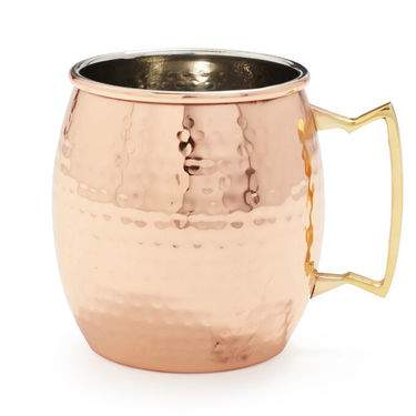Moscow Mule Mug Hammered Copper 20oz