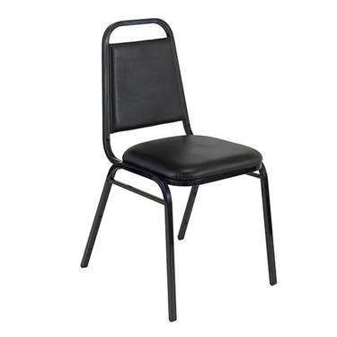 Stacking Banquet Chair Black