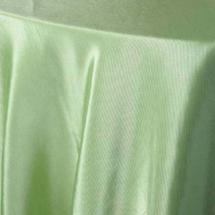 "Bengaline Apple Green 6"" X 100"" Square Tie/Sash"