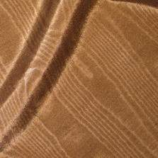 "Bengaline Moire Brown 90"" X 132"""