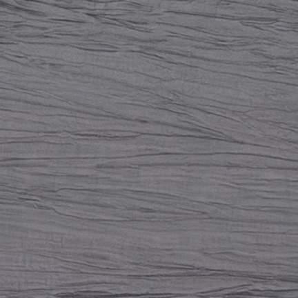 "Crinkle Taffeta Silver 7"" X 108"" Angled Tie/Sash"