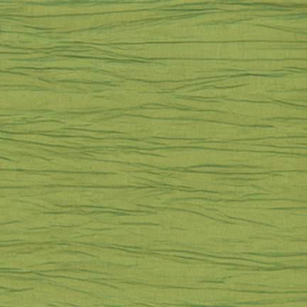 Crinkle Taffeta Apple Green