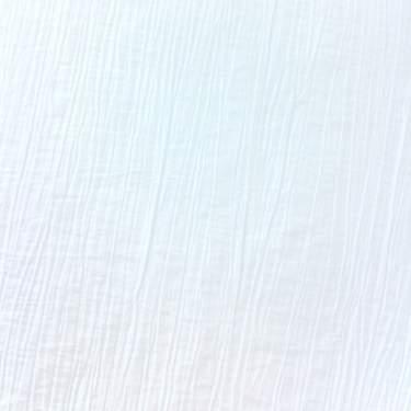 Crinkle Taffeta White