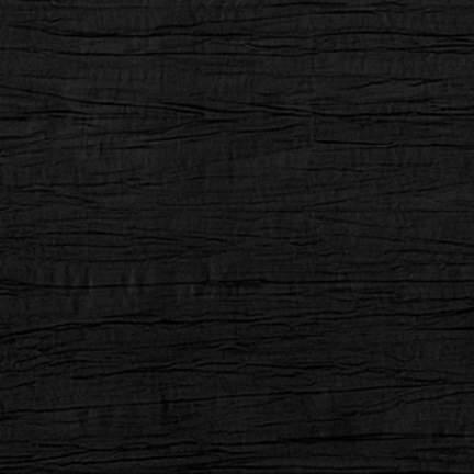 """Crinkle Taffeta Black 132"""" Round"""