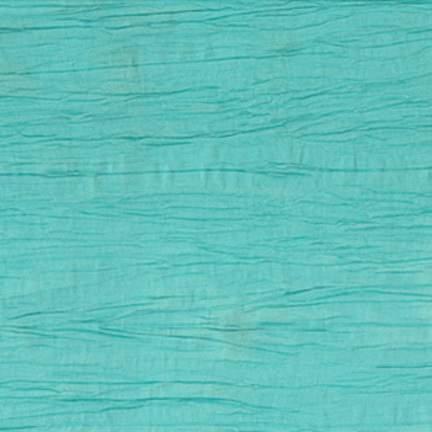 """Crinkle Taffeta Turquoise 90"""" Square"""