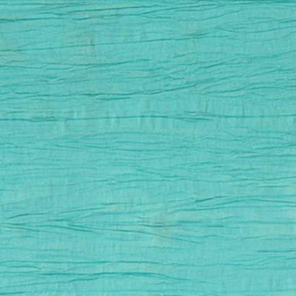 "Crinkle Taffeta Turquoise 108"" Round"
