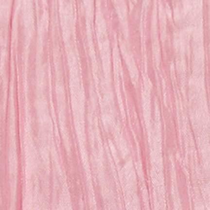 "Crinkle Taffeta Pink 90"" Square"