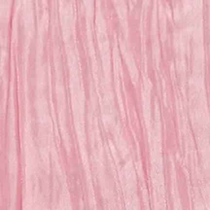 "Crinkle Taffeta Pink 90"" X 132"""
