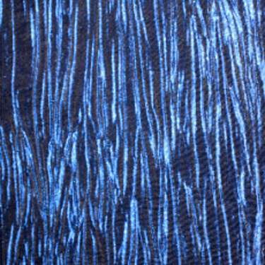 Crinkle Taffeta Royal Blue